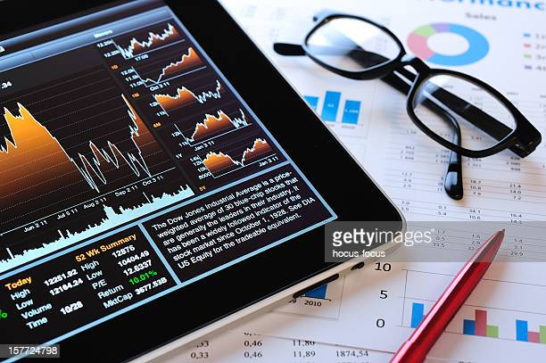 Stock Market analyze with iPad