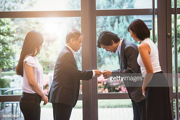 Stock market brokers and agents handshake