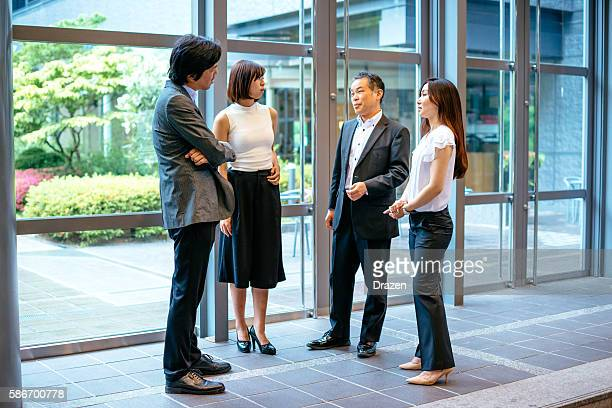 Stock market brokers and agents in Japan