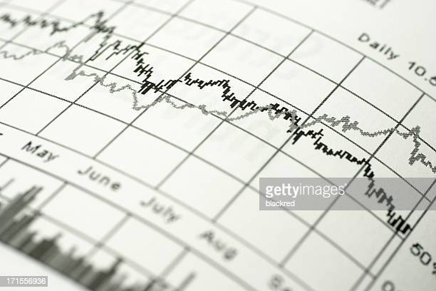 stock market chart - shareholder stock pictures, royalty-free photos & images
