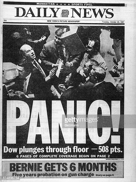 New York Daily News Tuesday Oct 20 1987 ***** EDITORIAL