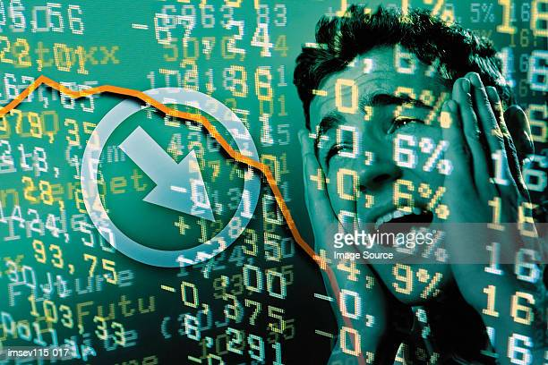 stock market crash - crash stock pictures, royalty-free photos & images