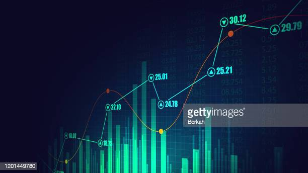 stock market or forex trading graph in graphic concept - forex trading stock pictures, royalty-free photos & images