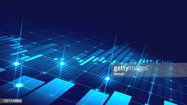 stock market or forex trading graph in graphic concept suitable for financial investment - data stock pictures, royalty-free photos & images