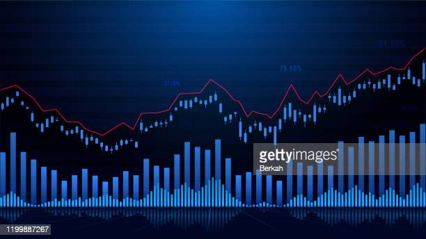 stock market or forex trading graph - forex trading stock pictures, royalty-free photos & images