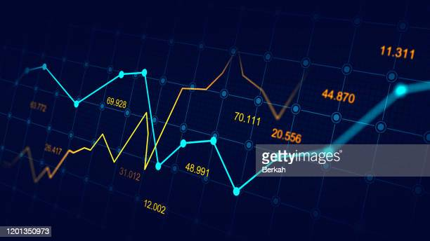 stock market or forex trading graph - data stock pictures, royalty-free photos & images