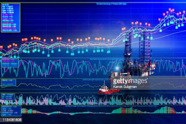 stock market - construction platform stock pictures, royalty-free photos & images