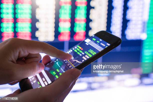 stock market - financial technology stock pictures, royalty-free photos & images