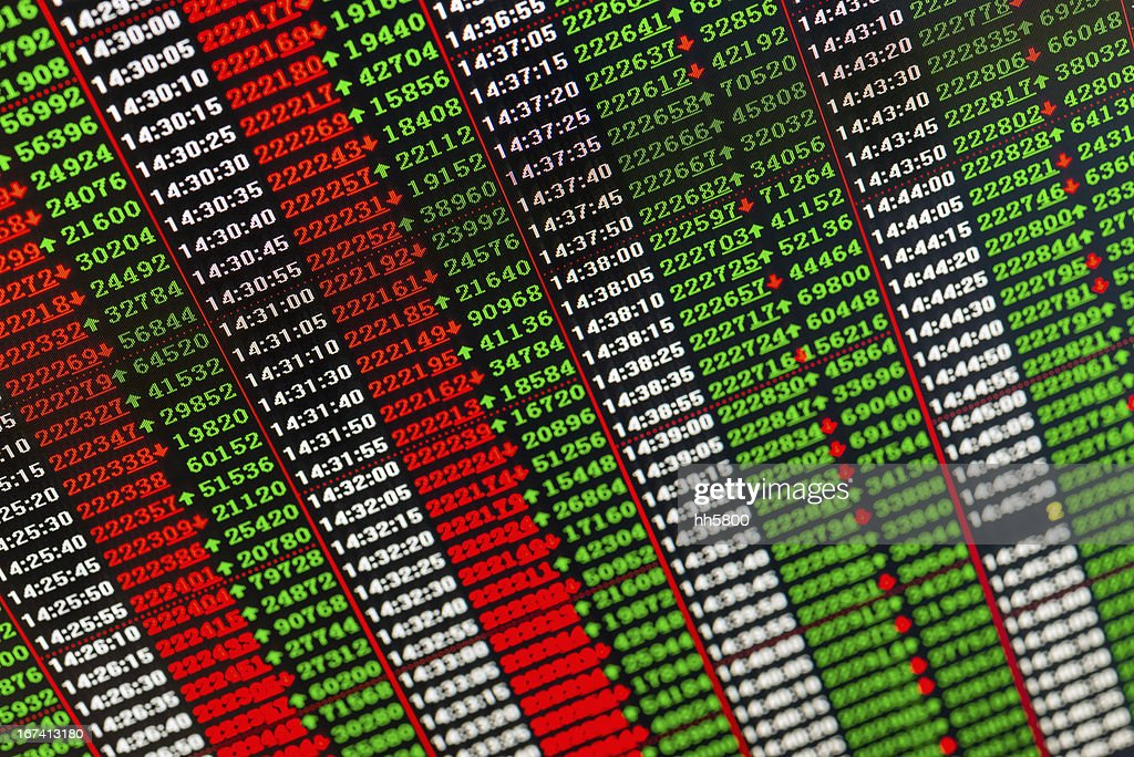 Stock Market : Stock Photo