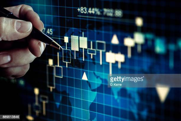 stock market - economy stock pictures, royalty-free photos & images