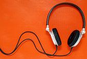 Stock Photo Music Headphones