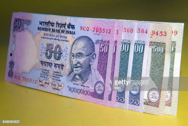 indian rupee note stock photos and pictures getty images