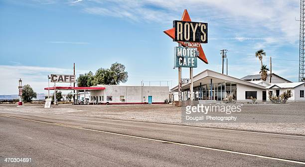 Fotos de Stock de la Route 66 Motel y café, Amboy California