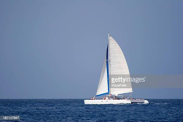 stock photo - catamaran stock photos and pictures