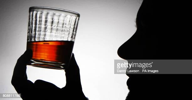 Stock photograph showing Johnnie Walker Black Label whisky made by FTSE 100 company Diageo