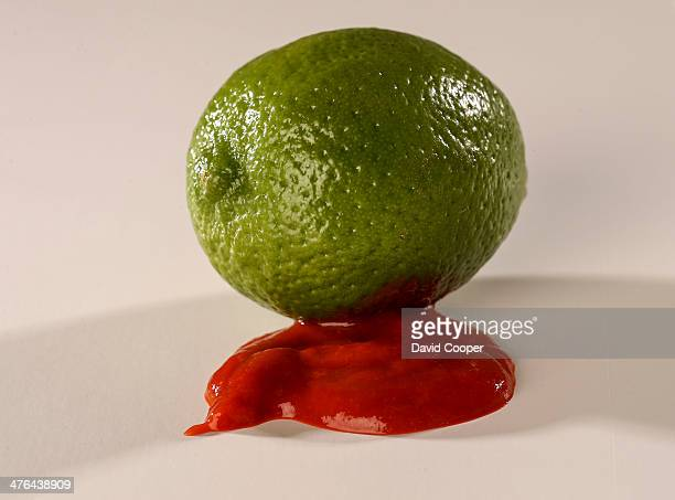 Stock shot of Lime and Ketchup