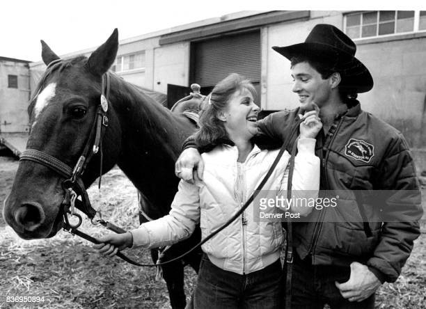 Stock Show David and Jackie Peters Credit The Denver Post