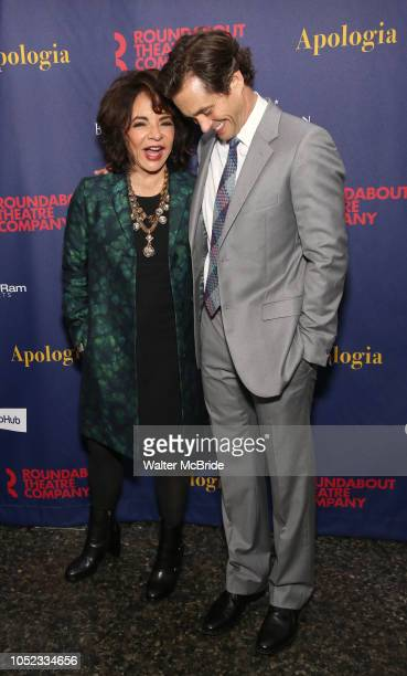 Stockard Channing and Hugh Dancy attend the Broadway Opening Night Celebration for the Roundabout Theatre Company production of 'Apologia' on October...