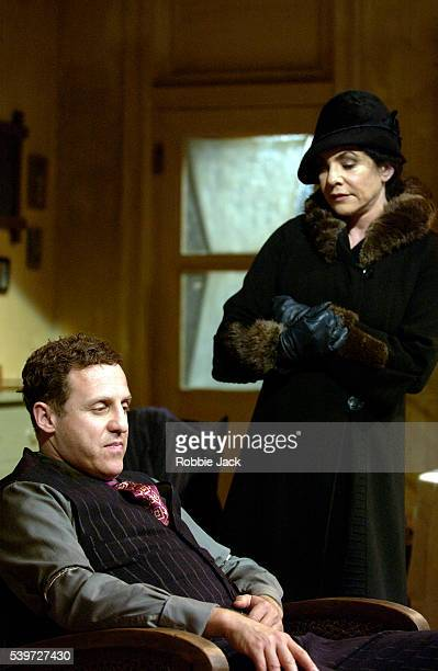 Stockard Channing and Nigel Lindsay in the production Awake and Sing at the Almeida Theatre London Copyright Robbie Jack
