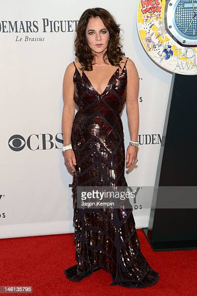 Stockard Channing attends the 66th Annual Tony Awards at The Beacon Theatre on June 10 2012 in New York City