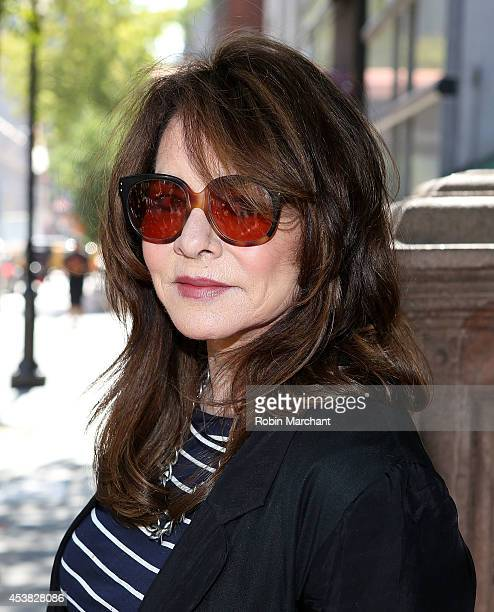 """Stockard Channing attends the """"It's Only A Play"""" Cast Photocall at Joe Allen Restaurant on August 19, 2014 in New York City."""