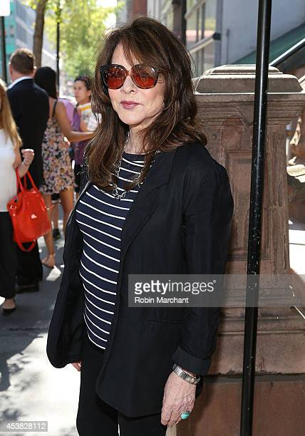 Stockard Channing attends the 'It's Only A Play' Cast Photocall at Joe Allen Restaurant on August 19 2014 in New York City