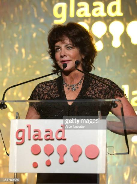 Stockard Channing during 14th Annual GLAAD Media Awards San Francisco Ceremony at Westin St Francis Hotel in San Francisco California United States