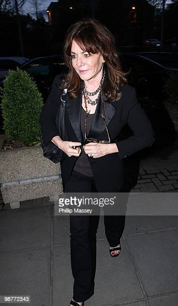 Stockard Channing is sighted at the Late Late Show Studios on April 30 2010 in Dublin Ireland