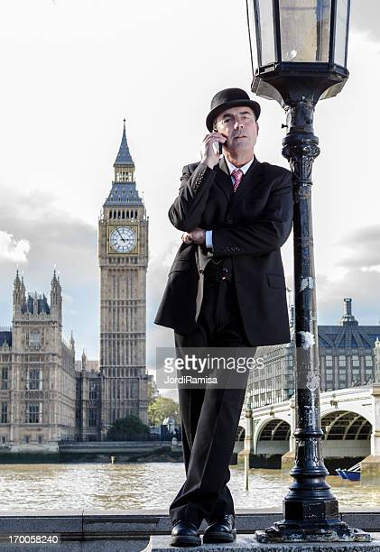 stockbroker on Westminster Bridge