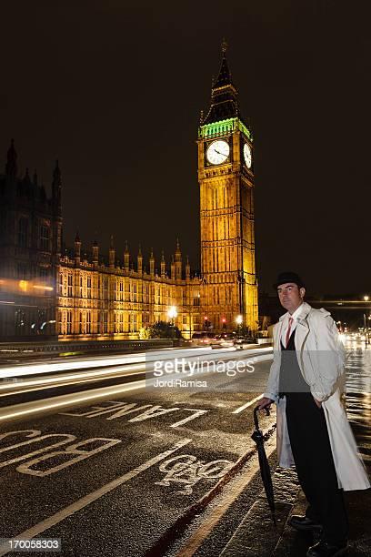 stockbroker en Westminster Bridge