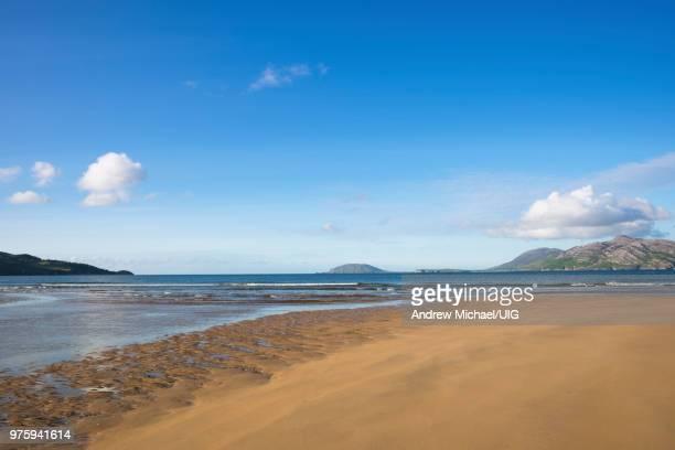 Stocker Strand, Portsalon on Ballymastocker Bay, Donegal, Ireland.