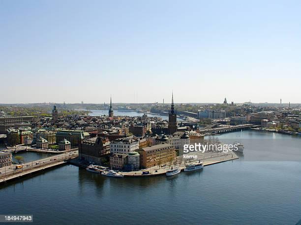 Stoccolma, veduta aerea