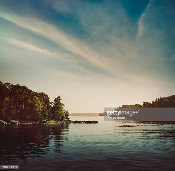 stockholm archipelago - sweden stock pictures, royalty-free photos & images