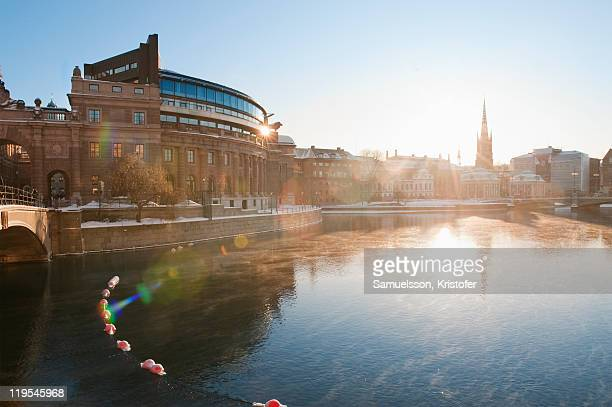 Stockholm at sunrise