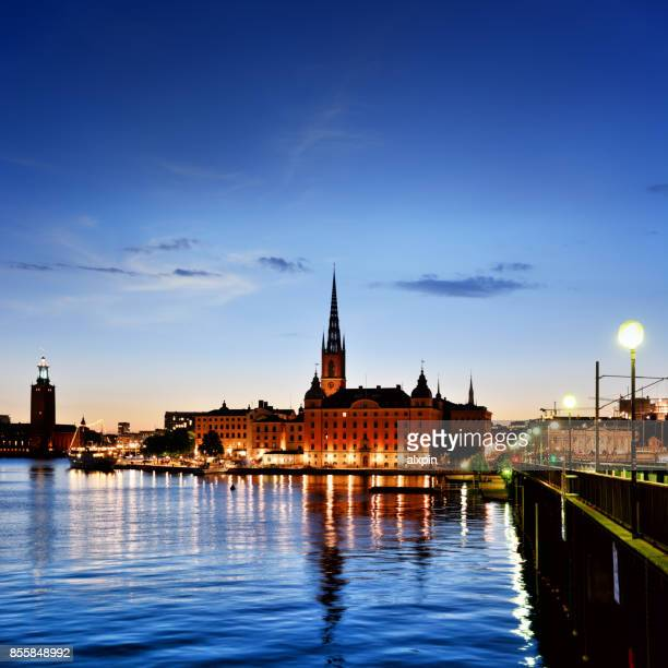 stockholm old town, sweden - nobel prize stock pictures, royalty-free photos & images