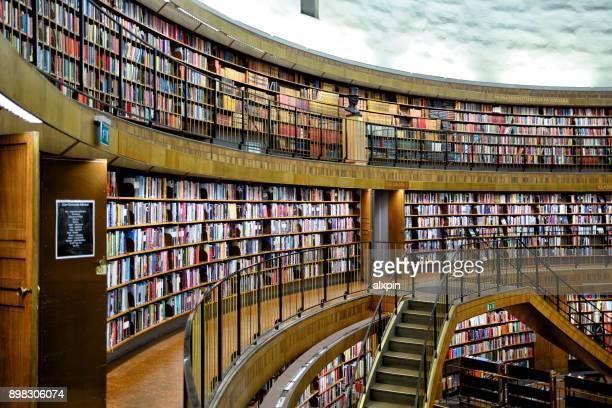 Bibliothèque publique de Stockholm, Suède