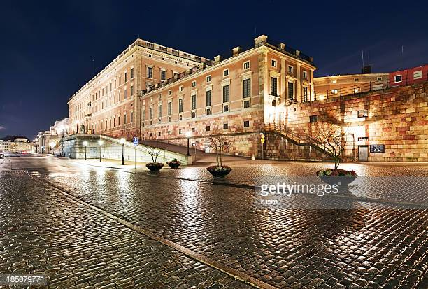stockholm royal palace - palace stock pictures, royalty-free photos & images