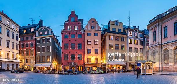 Stockholm Stortorget iconic square Gamla Stan Sweden
