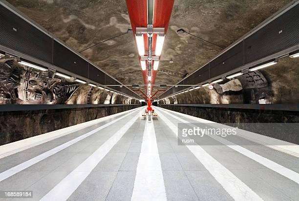 estação de metrô de estocolmo - descrição geral - fotografias e filmes do acervo