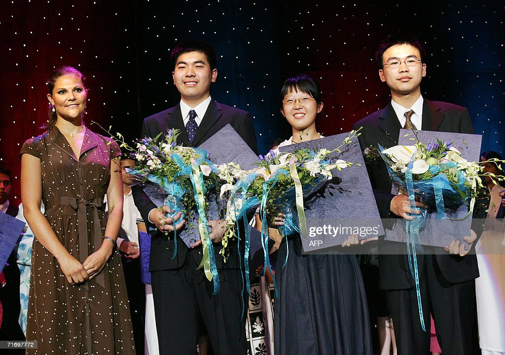 Chinese winners of the Stockholm Junior : News Photo