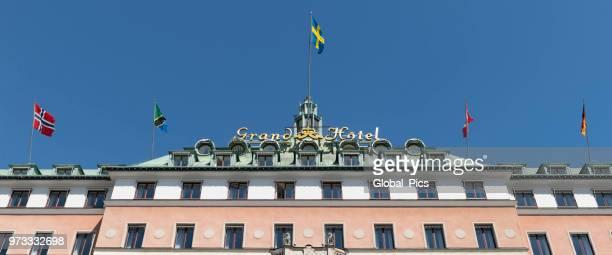ストックホルムスウェーデン - ストックホルム グランドホテル ストックフォトと画像