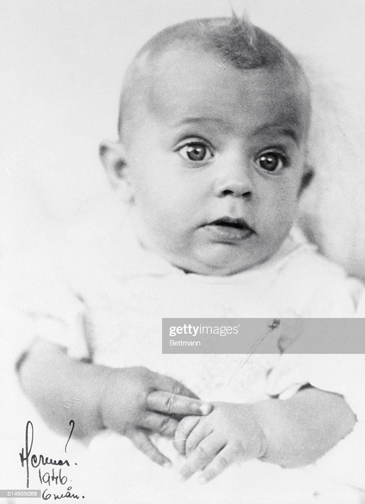 Prince Carl Gustaf as Baby : News Photo