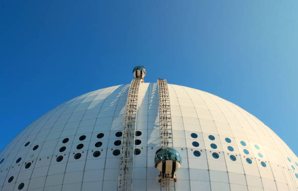 Stockholm's Ericsson Globe Arena - The world's biggest spherical building