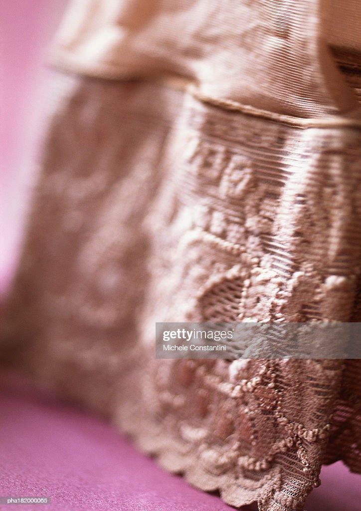 Stocking, close-up : Stockfoto