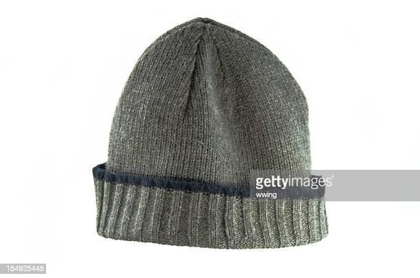 ストッキングに白の帽子