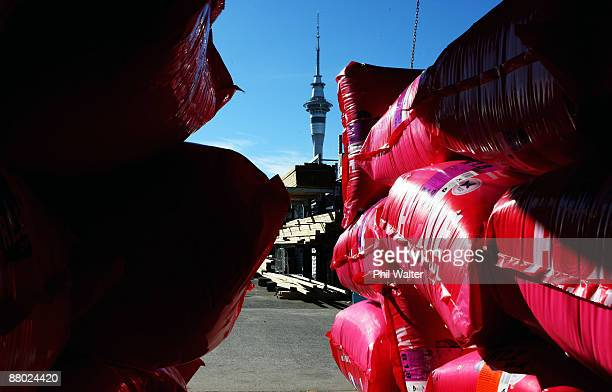 A stockpile of home insulation products are seen on May 28 2009 in Auckland New Zealand The New Zealand government will annouce in todays budget a...