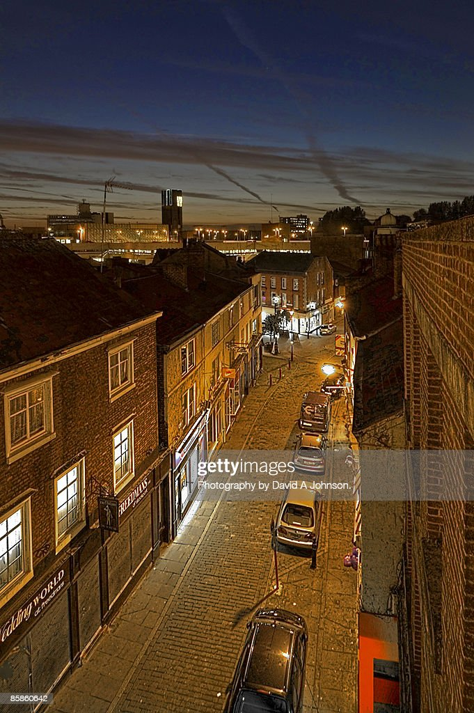 Stockport Town Centre, Cheshire. : Stock-Foto