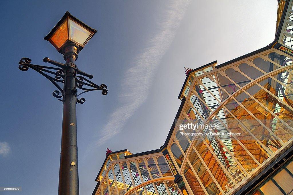 Stockport-Glass Umbrella. : Stock-Foto