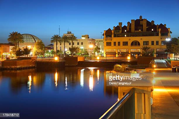 stockton california - california stockfoto's en -beelden