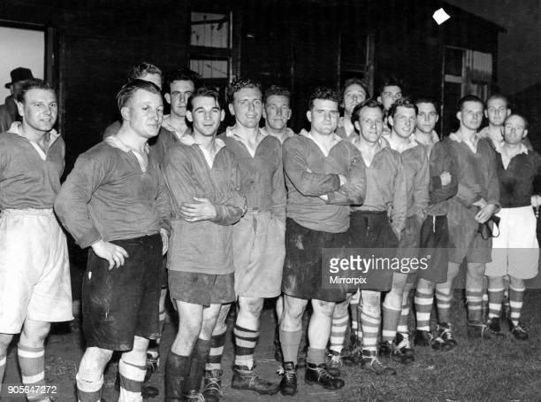 Stockton Rugby Team, Circa 1951 - 1952 Season.